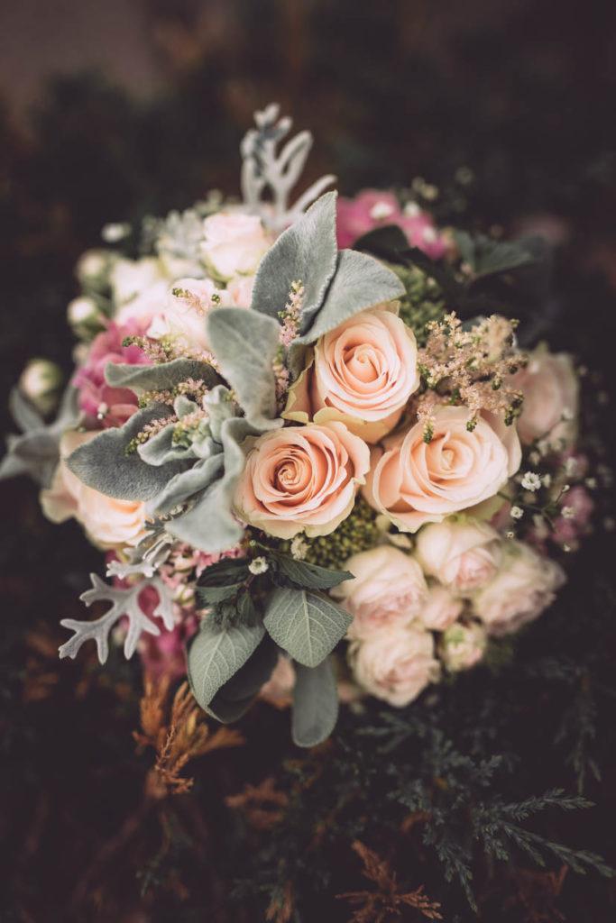 Brautstrauß, Floristik